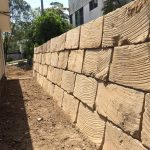 Rock Retaining wall Brisbane North