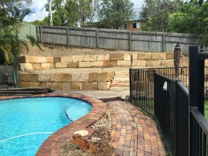 Rock Retaining Wall Brisbane