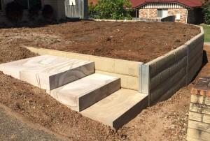 Concrete Sleeper Walls