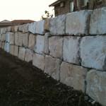 B Grade Sandstone rock wall