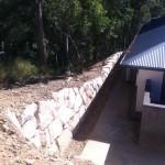 Random Sandstone Rock wall
