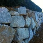 Grante Rock Wall