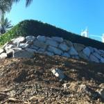 Granite Boulder Wall