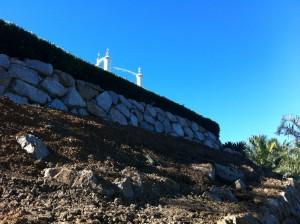 Granite Rock Wall